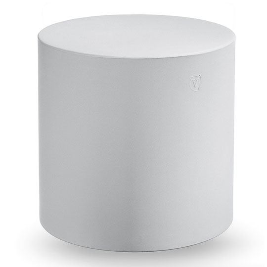 Pouf Home Fitting Cylindre Lyxo