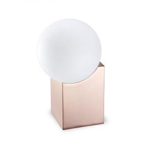 Design cubique pour cette lampe décorative